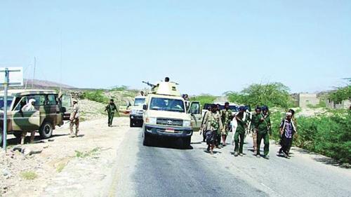 خروج كل القوات للجبهات ولا عودة حاليا للواء الحماية الرئاسية الاول لعدن