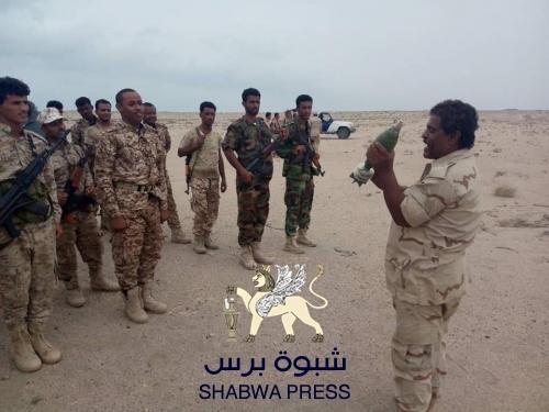 كتيبة حزم 1 تقيم مناورة عسكرية ضمن خطط العام التدريبي 2019م