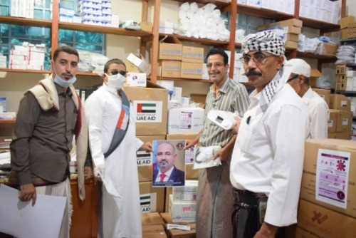 ضخ مساعدات طبية إماراتية في القطاع الصحي بدوعن