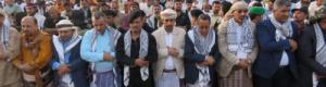 """الرئيس """"الزُبيدي"""" يؤدي صلاة عيد الفطر المبارك بالعاصمة عدن ويتبادل التهاني مع جموع المواطنين"""
