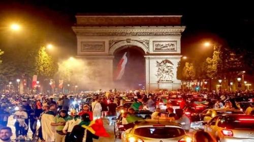 توقيف 282 شخصا في فرنسا في أحداث عقب تأهل الجزائر لنهائي أمم إفريقيا
