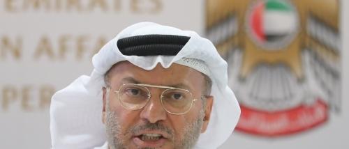 قرقاش: أستغرب ممن يجاور العالم العربي ويدير علاقاته بالعداء لمصر والسعودية والإمارات