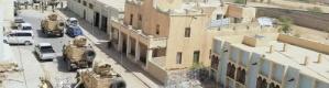 اشتباكات متقطعه في عتـق ومحاصر قوة من لواء 21 في قصر المحافظ بعتق (تفاصيل)