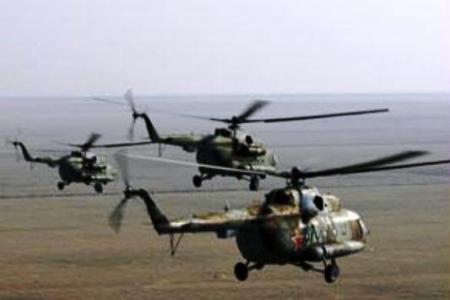 تأكيدا لأخبار ' شبوه برس'' وصول أربع مروحيات عسكرية لإجلاء السلفيين والأجانب من دماج