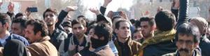 توسع الاحتجاجات واعتقال 370 من المتظاهرين الايرانيين
