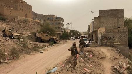 أستشهاد جنديان من افراد النخبة الشبوانية اثناء تنفيذ حملة منع السلاح بالمصينعة بشبوة