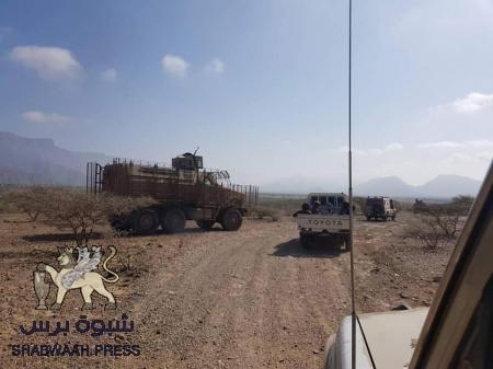 الحزام الأمني يحكم السيطرة على معسكر لتنظيم القاعدة في مودية بأبيـن