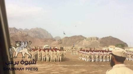 اللواء الأول مشاة التابع للمجلس الانتقالي يخرج دفعة جديدة وينظم عرضا عسكريا مهيبا بعدن
