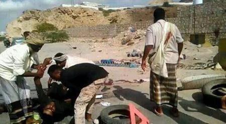 رجال المنطقة العسكرية الثانية يفشلون عمل إرهابي بمدينة المكلا